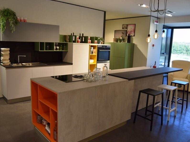 Cucina moderna ad isola stosa cucine infinity a prezzo ribassato - Stosa cucine prezzo ...