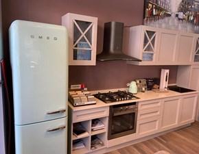 Cucina moderna altri colori Arredo3 lineare Arredo 3 frida maniglia a scomparsa su telaio in Offerta Outlet