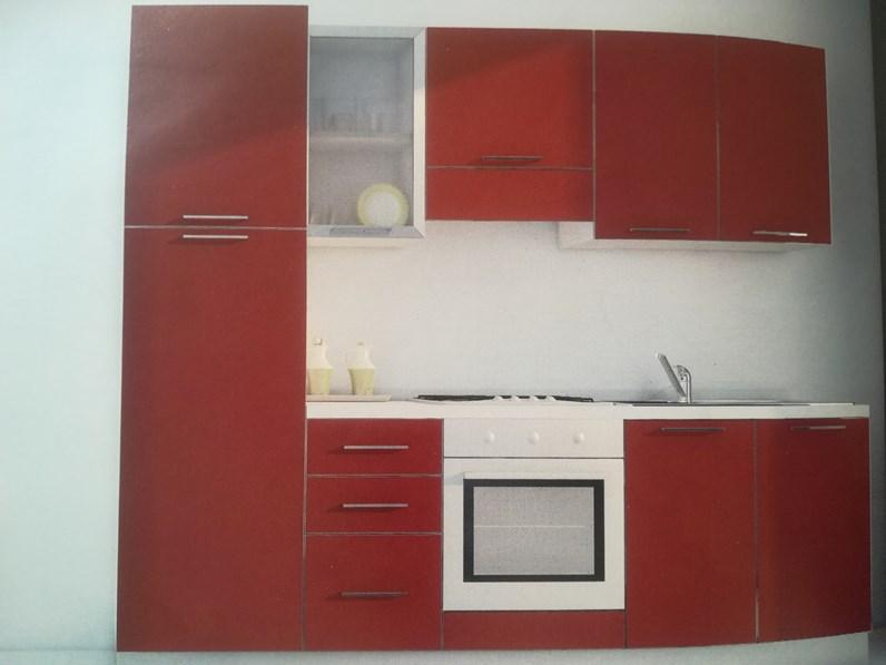 Cucina moderna altri colori Arrex lineare Primavera in Offerta Outlet