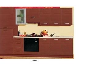 Cucina moderna altri colori Artigianale lineare Sonia in Offerta Outlet