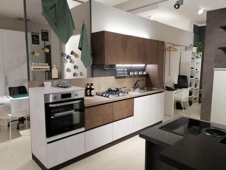Cucina moderna altri colori Gicinque cucine lineare Time ossido in ...