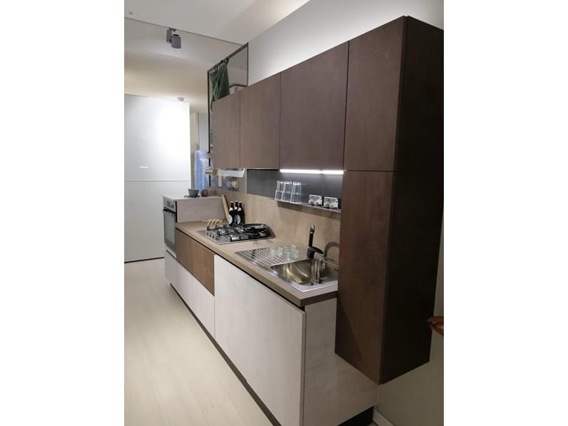 Cucina moderna altri colori gicinque cucine lineare time ossido in offerta - Colori cucina moderna ...