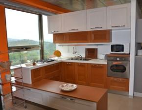 Cucina moderna altri colori Lube cucine ad angolo Giorgia in Offerta Outlet