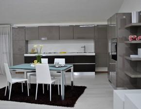 Cucina moderna altri colori Scavolini lineare Scenery in Offerta Outlet