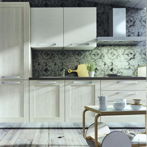 Cucina moderna angolare modello cloe in alkorcell finitura for Cucina angolare moderna prezzi