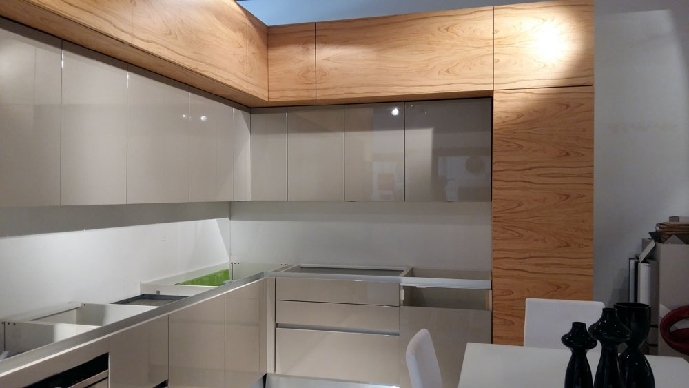 Cucina moderna aster cucine scontata del 67 cucine a - Cucina angolo moderna ...