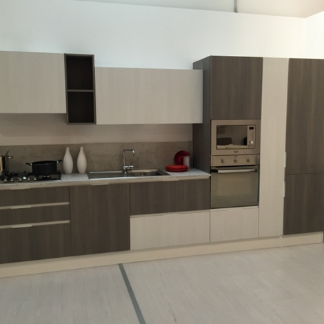 Cucina In Rovere Sbiancato. Latest Cucina Rovere Sbiancato With ...