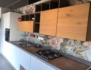 Cucina moderna bianca Arrex lineare Bianca in offerta