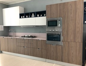 Cucina moderna bianca Doimo cucine lineare Style in offerta