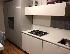 Cucina moderna bianca Essebi cucine lineare Cucina polimerico lucido scontata