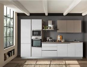Cucina moderna bianca Net cucine lineare *delizia in offerta