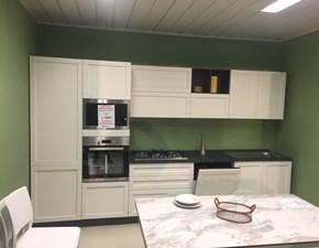 Cucina moderna bianca Net cucine lineare Elsa in Offerta Outlet