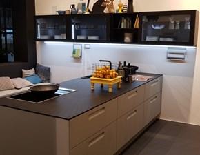 Cucina moderna bianca Nolte cucine ad isola Nolte 4 scontata