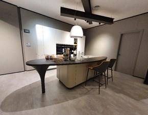 Cucina moderna bianca Prezioso ad isola 646 bring scontata
