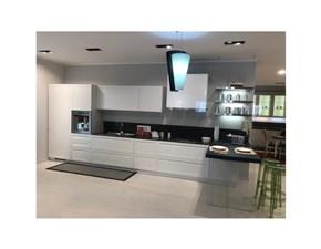 Cucina moderna bianca Scavolini con penisola Carattere scontata