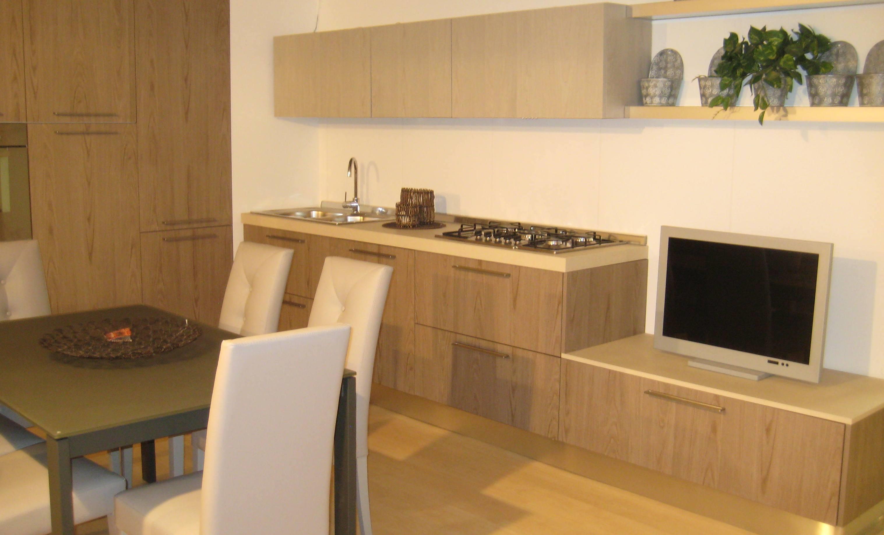 Cucina moderna composizione angolare.   cucine a prezzi scontati