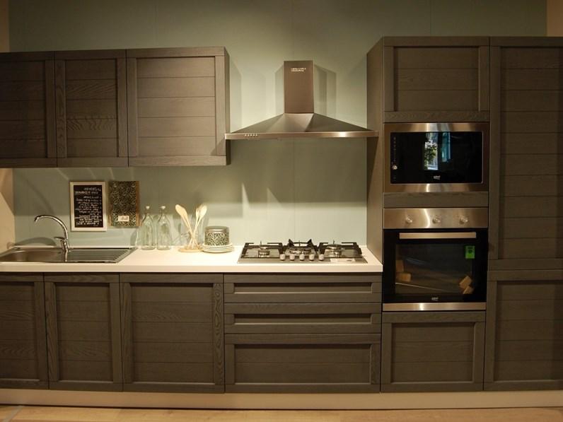 Cucina moderna con ante in legno completa di 5 for Cucine di marca