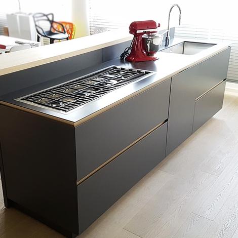 Cucina moderna con isola artex di varenna scontata del 30 - Cucina artex varenna ...