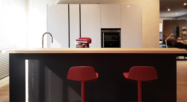 Cucina moderna con isola artex di varenna scontata del 30 - Isola cucina moderna ...