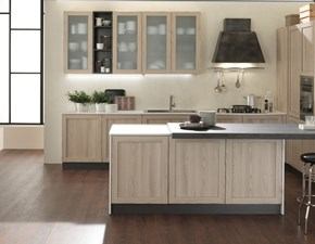 cucina moderna con isola shabby chic noir in offerta completa outlet