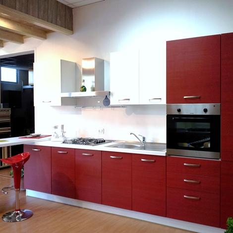 Cucina moderna con penisola 15318 cucine a prezzi scontati - Cucina moderna penisola ...