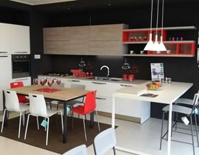 Cucina Moderna Con Isola Curva.Cucine Con Penisola Scontati In Outlet