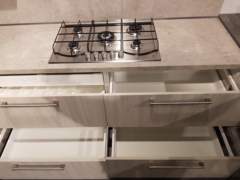 Cucina moderna con penisola arredo3 luna a prezzo ribassato - Cucina moderna con penisola ...