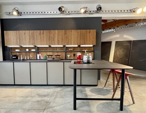 Cucina moderna con penisola Zampieri cucine Xp a prezzo scontato