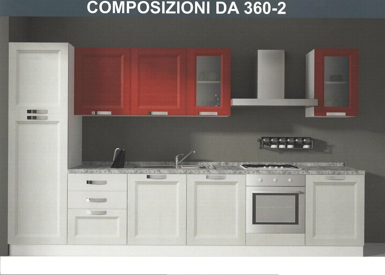 Cucina moderna denise nuova cucine a prezzi scontati for Cucina nuova prezzi