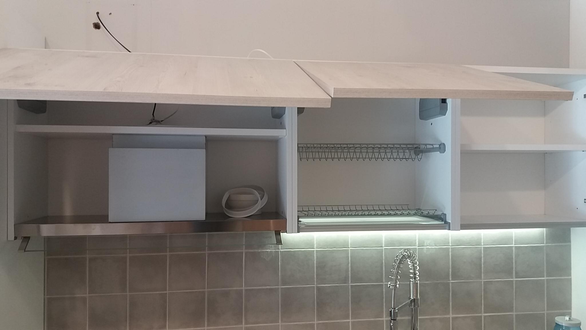 Cucina moderna di design con penisola scontata 50 - Miton cucine prezzi ...