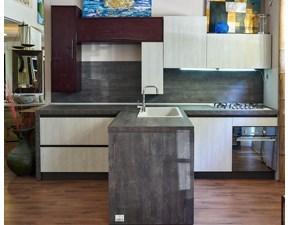 Offerta cucina Dialogo di Veneta cucina in legno massello rovere ...