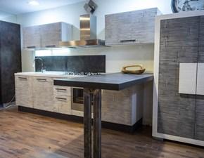 cucina moderna il legno e bambu
