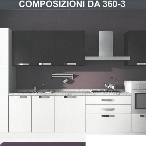 Cucina moderna ginger nuova cucine a prezzi scontati for Cucina nuova prezzi