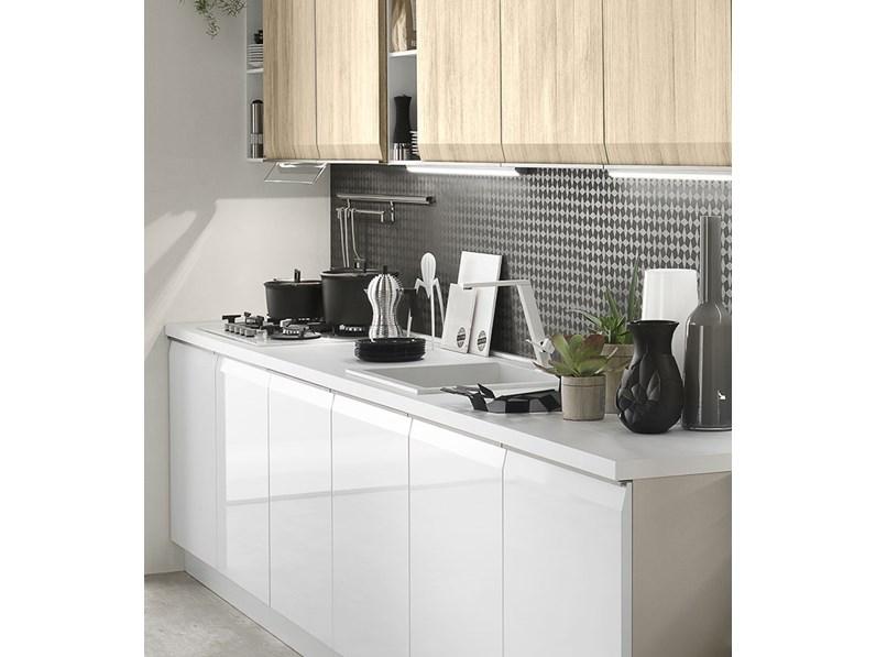 Cucina moderna gola in offerta con lavastoviglie in omaggio elettrolux cucine a prezzi scontati - Cucina a gas in offerta ...
