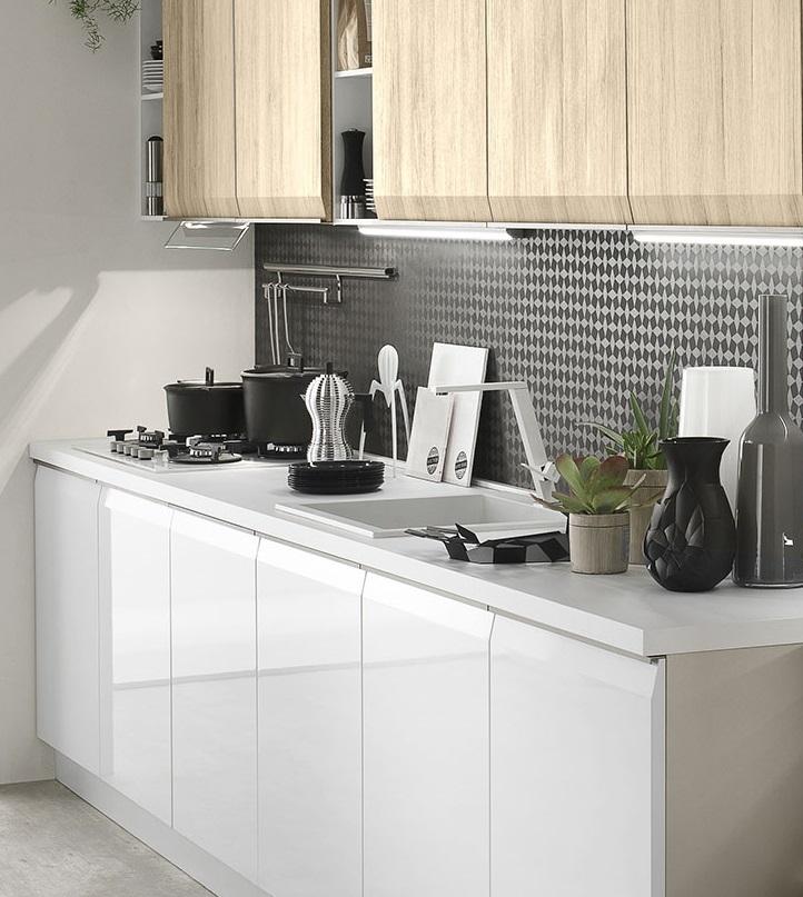 cucina moderna gola in offerta con lavastoviglie in omaggio ...