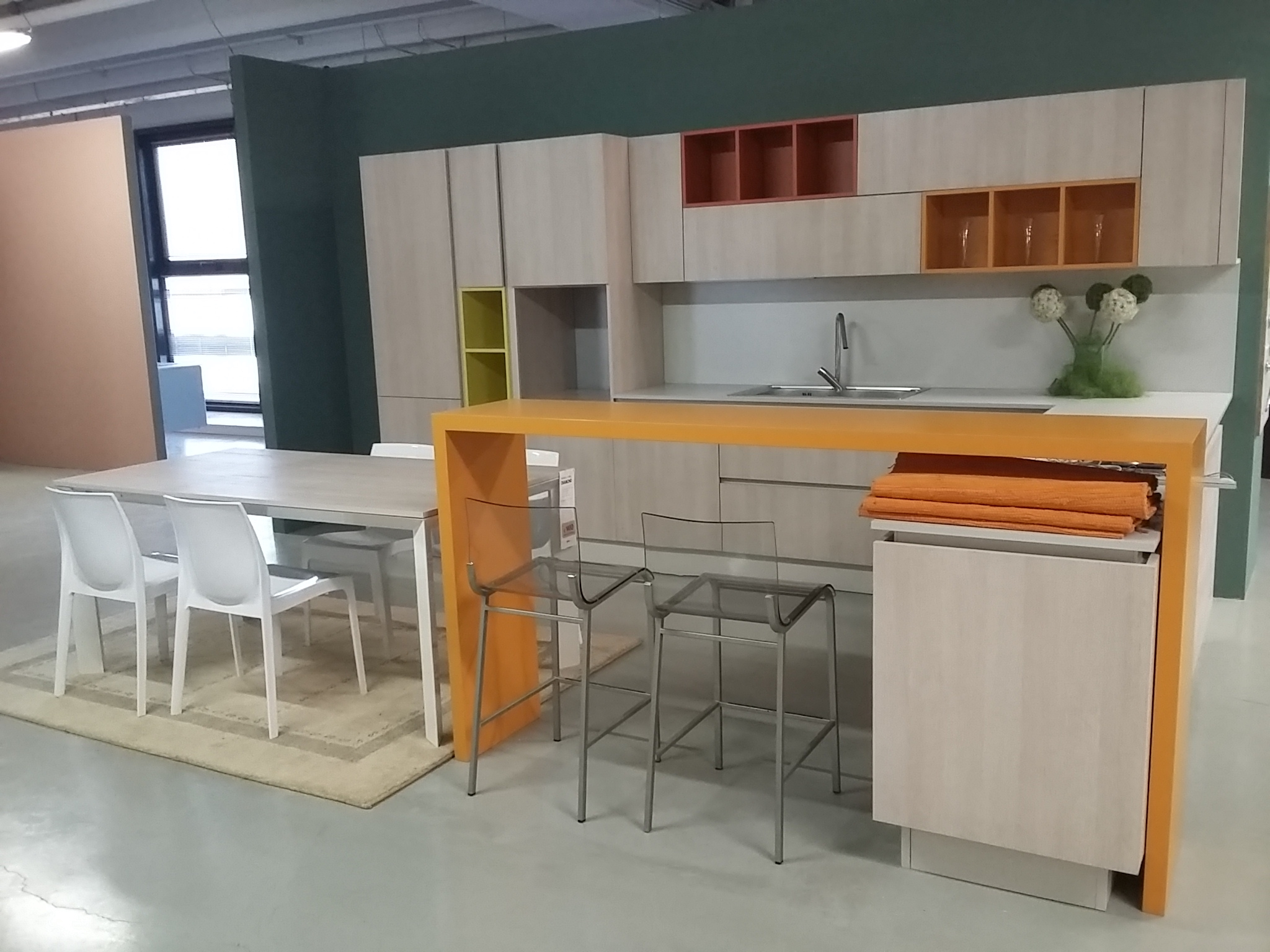 Awesome Cucine Rovere Sbiancato Moderne Photos - Home Design ...