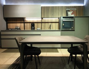 Cucina moderna grigio Arredo3 lineare Z6 scontata