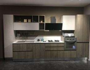 Cucina moderna grigio Berloni cucine lineare Brera in offerta