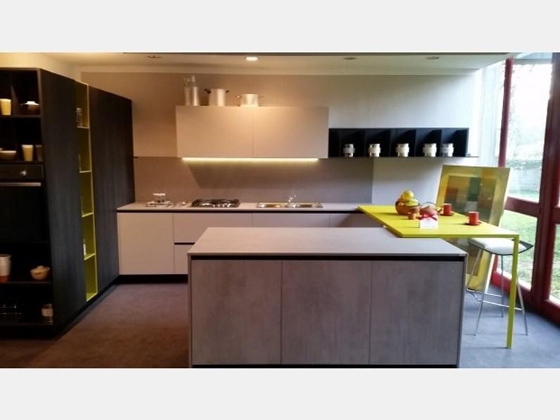 Cucina moderna grigio Copat cucine ad isola Copat 2.1 in offerta