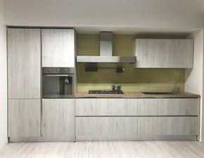 Cucina moderna grigio Gm cucine lineare Kubika in Offerta Outlet