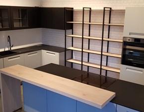 Cucina moderna grigio Nolte cucine ad isola Integra in offerta