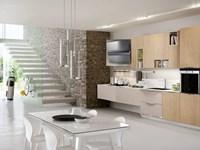 cucina moderna in essenza frassino e rovere in offerta convenienza