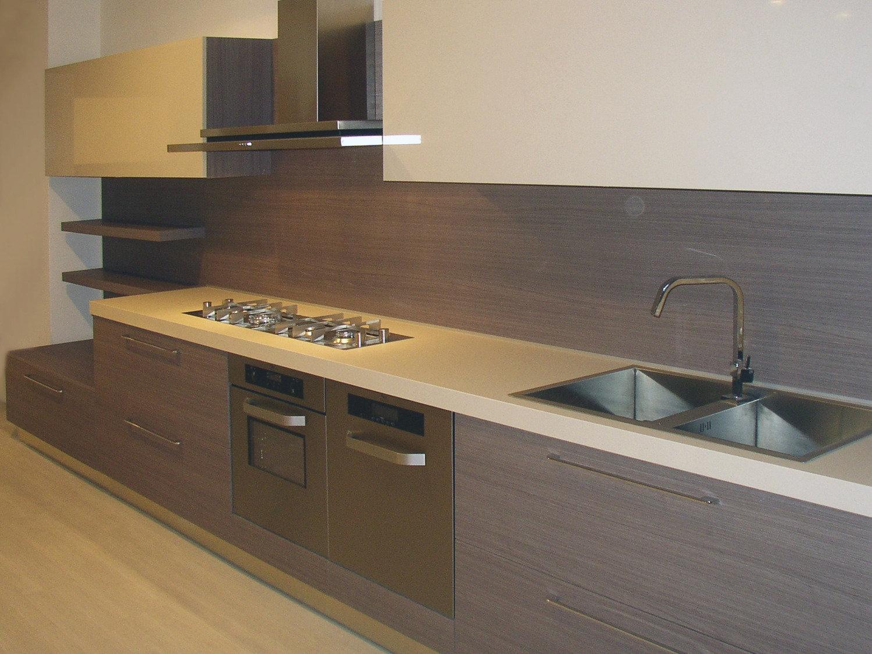 Pin cucina moderna in legno massiccio rovere fashion mobilificio on pinterest - Cucina moderna in legno ...