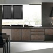 cucina moderna industriale effetto bronzo in offerta outlet nuovimondi