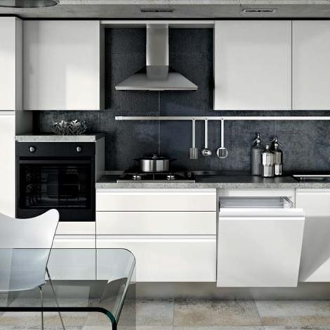 Cucina moderna laccata con gola satinata completa di elettrodomestici cucine a prezzi scontati - Cucina completa prezzi ...