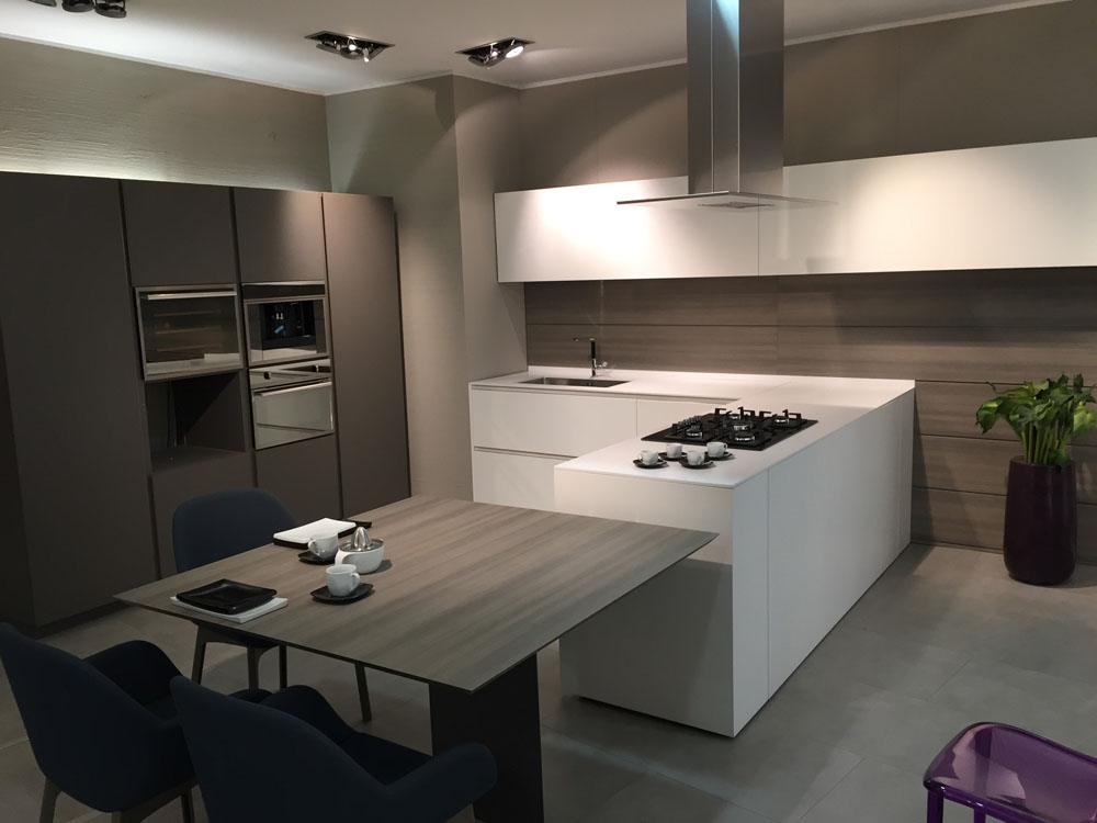 cucina moderna laccata modulnova scontata del 51 cucine
