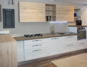cucina moderna legno white e rovere  in offerta convenienza