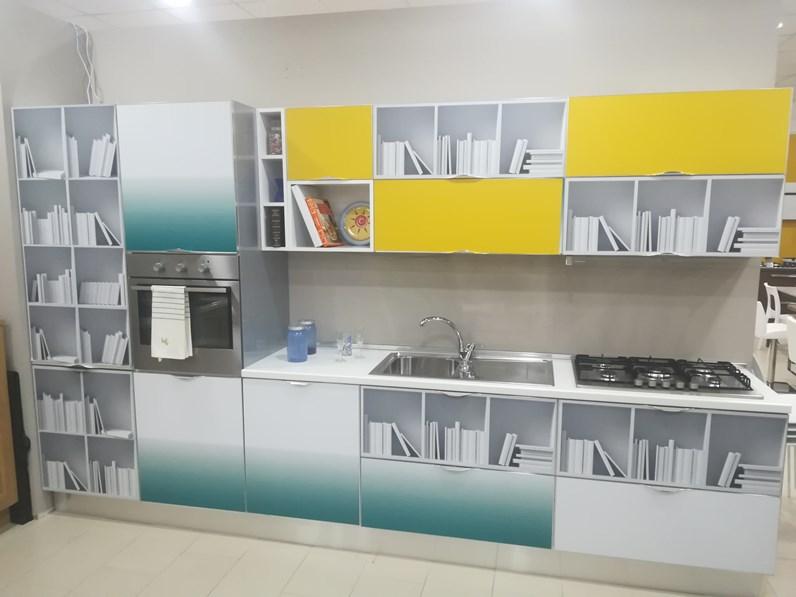 Cucina moderna lineare Aran cucine Cover a prezzo scontato