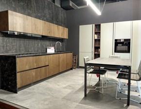 Cucina moderna lineare Arrex Arrex loft a prezzo ribassato