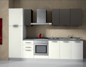 Cucina moderna lineare Arrex Composizione da 300- 7 a prezzo scontato